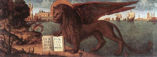Carpaccio: Il leone di San Marco