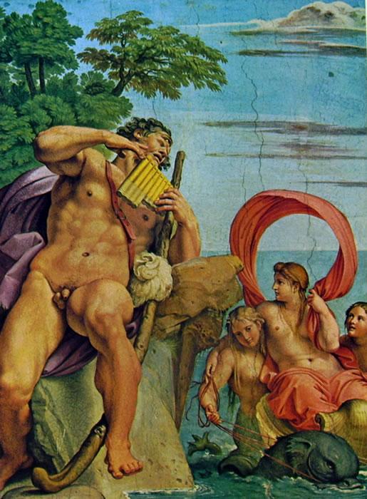 Annibale Carracci: La Galleria Farnese: Polifemo e Galatea