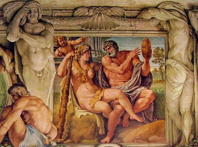 Annibale Carracci - La Galleria Farnese: Ercole e Iole