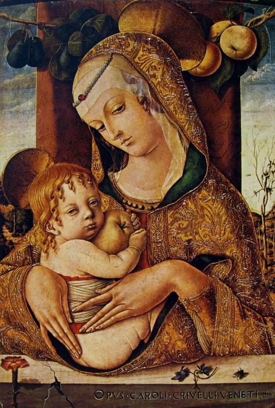 Carlo Crivelli: Madonna col bambino