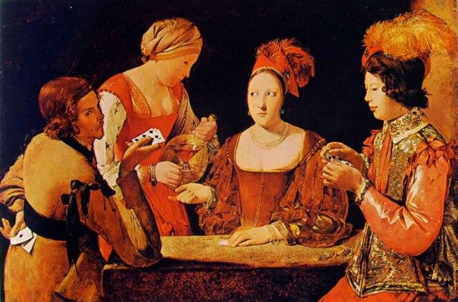 Georges de La Tour: Il baro con l'asso di fiori