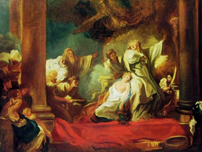 Jean-Honoré Fragonard: Coreso e Calliroe