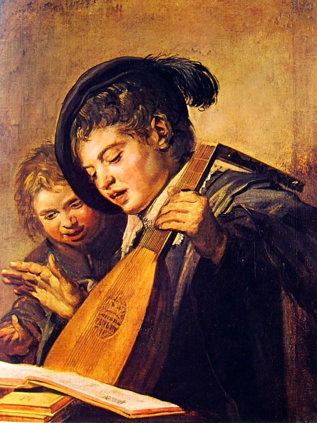 Frans Hals: Due ragazzi musici