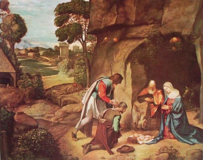 Giorgione: Natività allendale