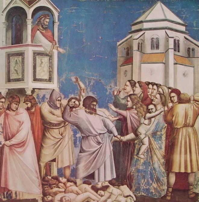 Giotto: La strage degli innocenti