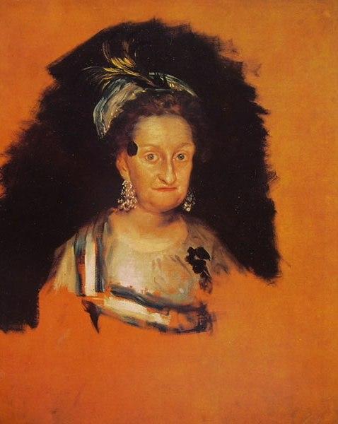 Goya - L'infanta Maria Josefa