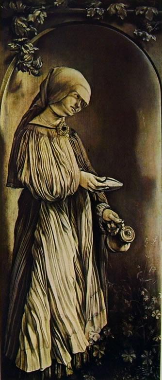Matthias Grünewald: Monocromi dell'altare Heller