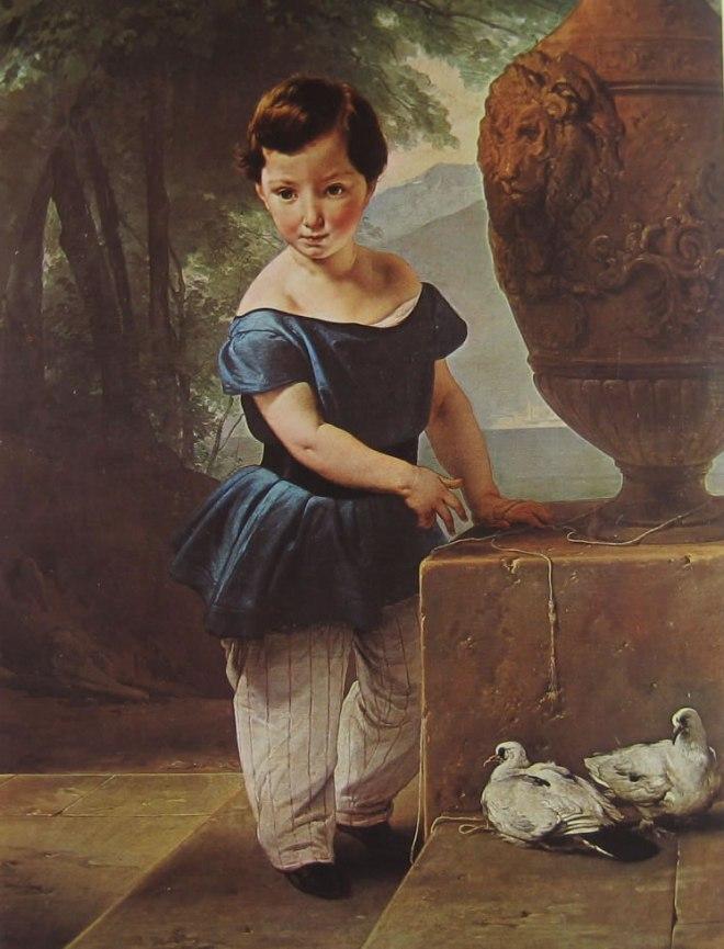 Hayez: Don Giulio Vigoni bambino
