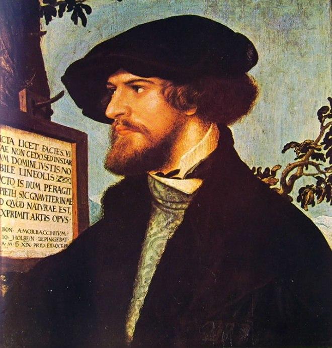 Hans Holbein il Giovane: Ritratto di Bonifacius Amerbach