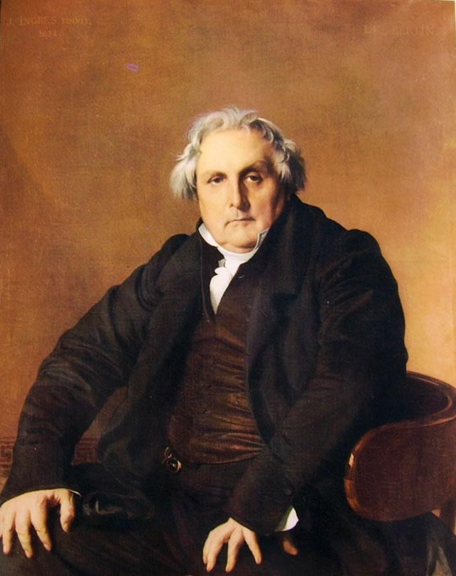 Jean-Auguste-Dominique Ingres: Monsieur Bertin l'Aine