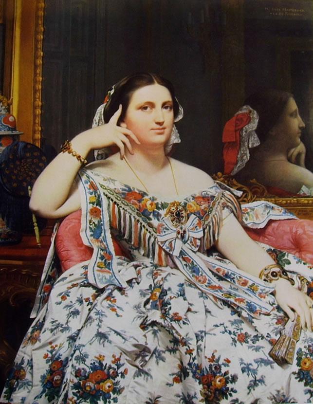 Jean-Auguste-Dominique Ingres: Madame Moitessier