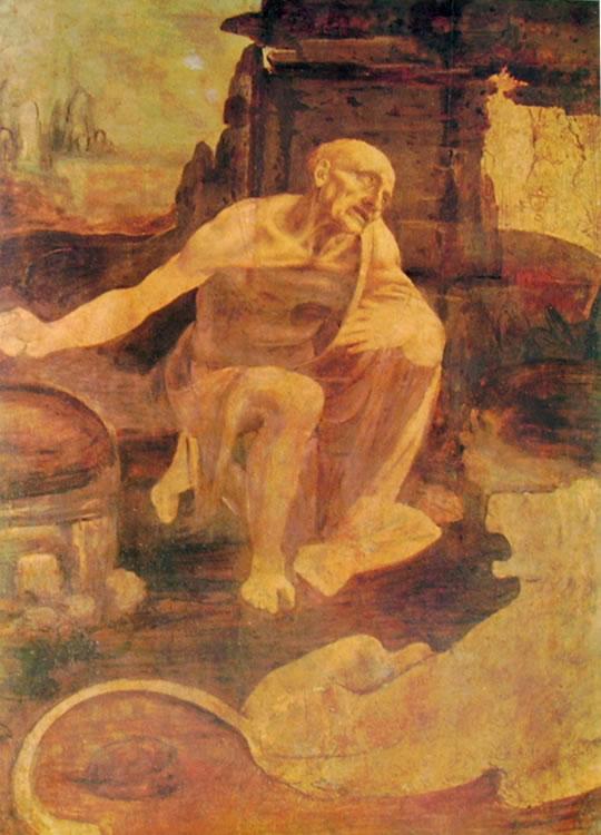 Leonardo da Vinci: S. Gerolamo
