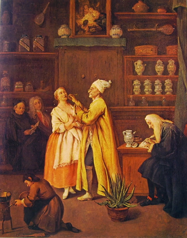 Pietro Longhi: Il farmacista