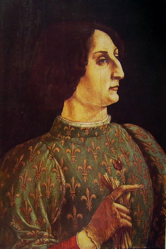 Antonio del Pollaiolo: Ritratto di Galeazzo Maria Sforza