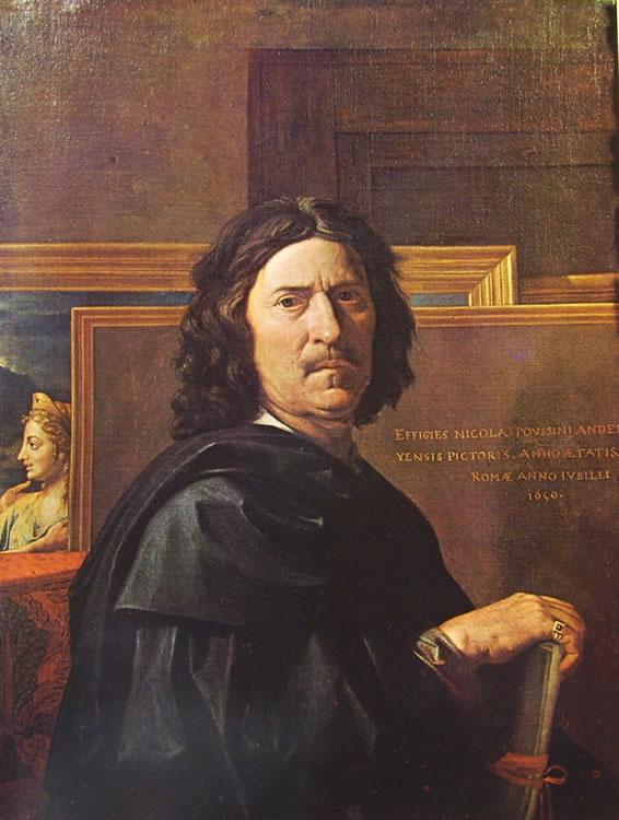 Nicolas Poussin: Autoritratto
