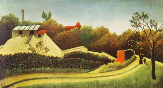 Rousseau il Doganiere: Segheria presso Parigi