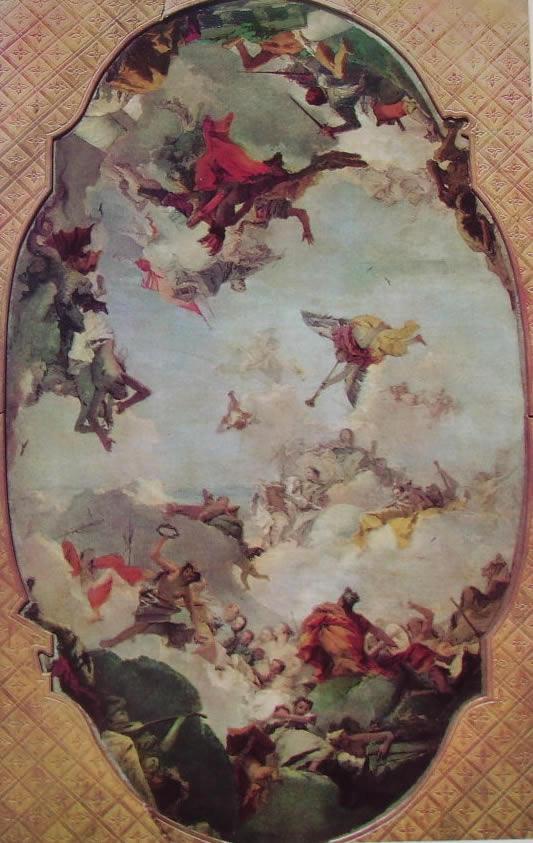 Il Tiepolo: Apoteosi della famiglia Pisani