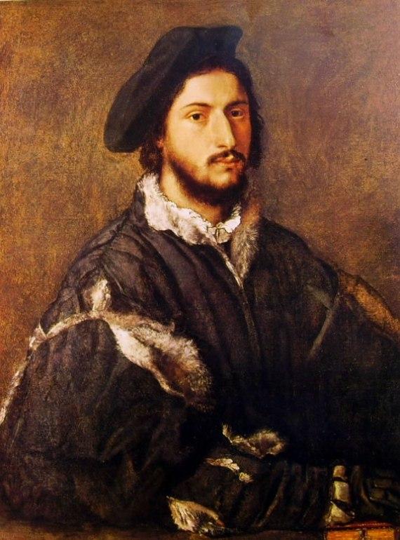 Tiziano: Ritratto di Vincenzo Mosti