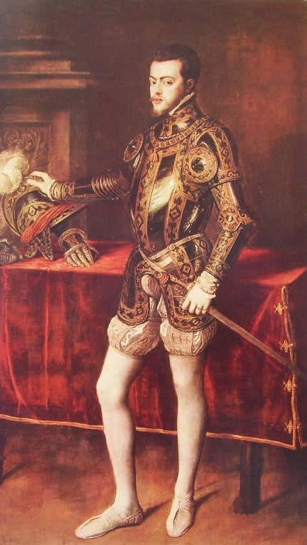 Tiziano: Ritratto di Filippo II