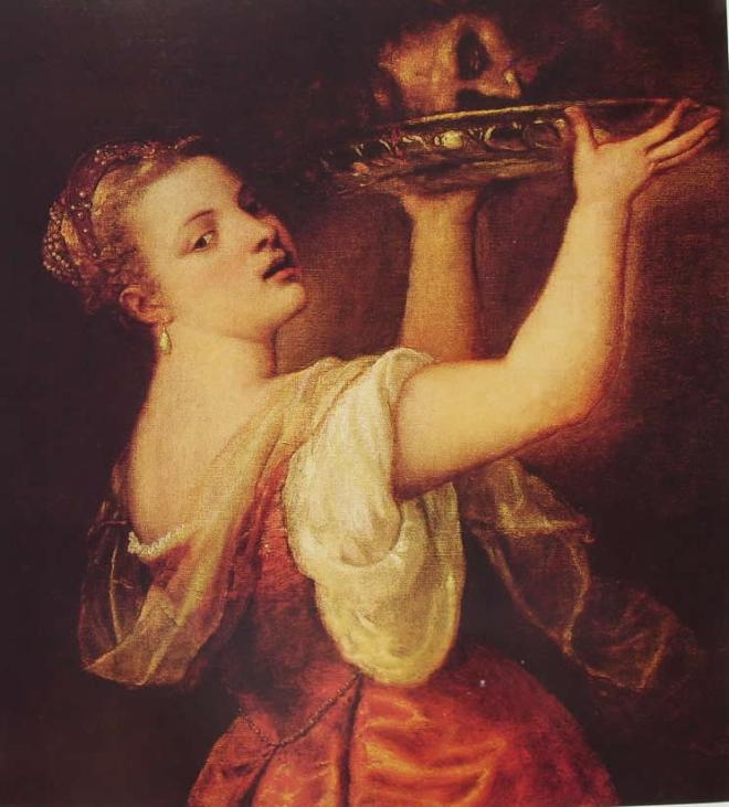 Tiziano: Salomè