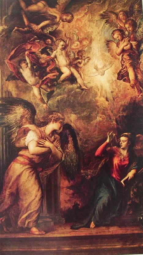 Tiziano: L'Annunciazione