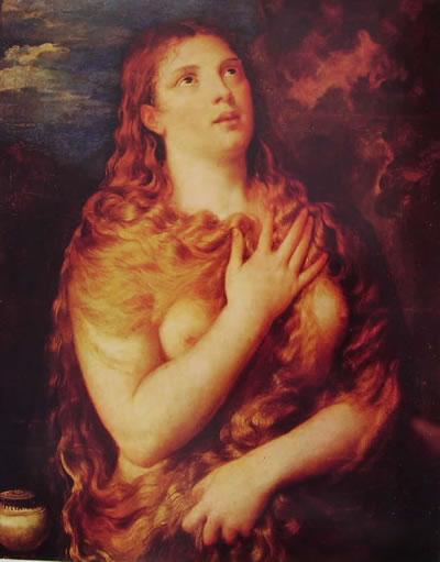 Maddalena penitente, cm. 68, Palazzo Pitti, Firenze.