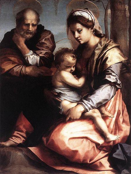 Andrea del Sarto: Sacra Famiglia Barberini