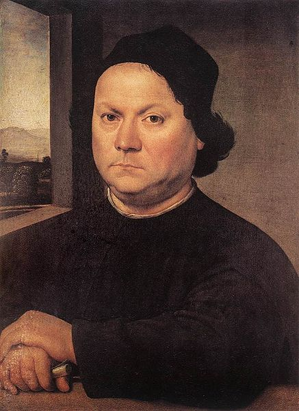 Lorenzo Credi: Ritratto di Pietro Perugino