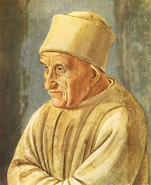Filippino Lippi: Ritratto di uomo anziano