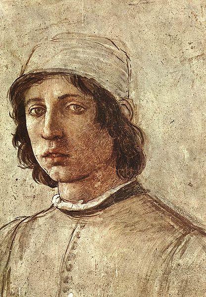 Filippino Lippi: Autoritratto