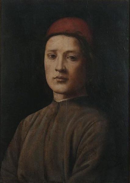 Filippino Lippi: Ritratto di giovane col berretto rosso