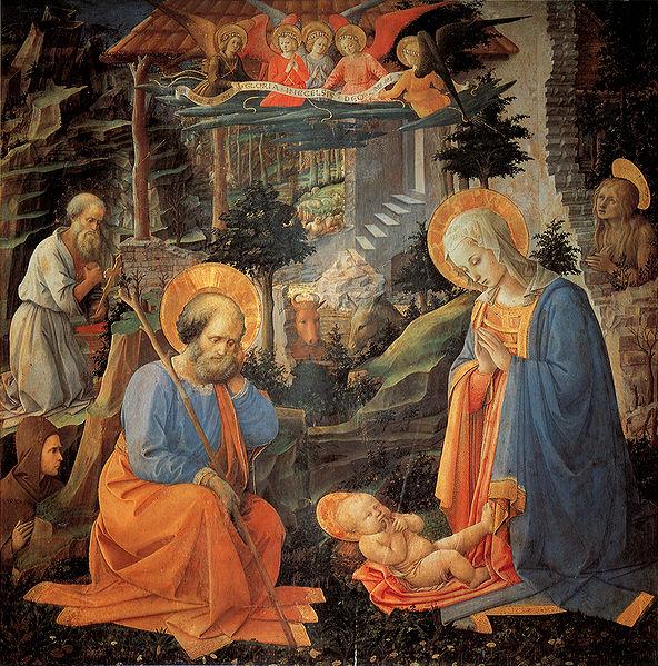 Filippo Lippi: Adorazione del Bambino di Annalena