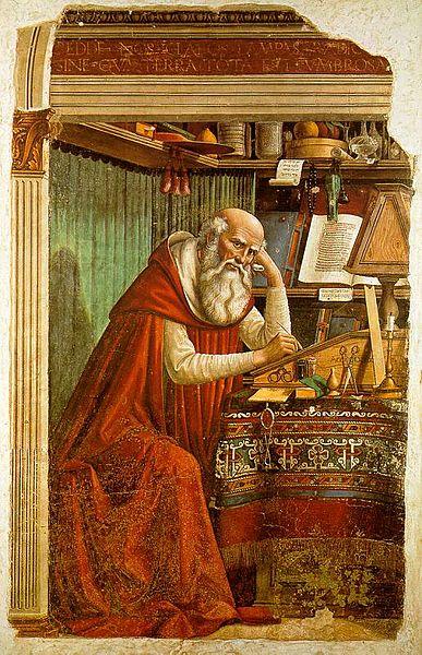 Domenico Ghirlandaio: San Girolamo nello studio