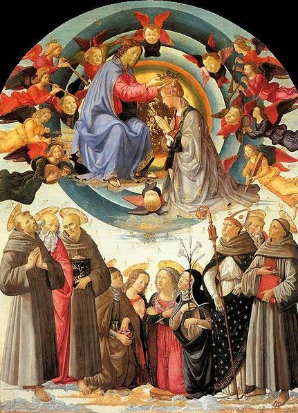 Domenico Ghirlandaio: Incoronazione della Vergine (Città di Castello)
