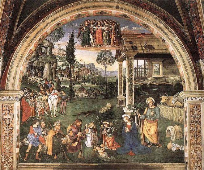 Cappella Baglioni - Adorazione dei pastori
