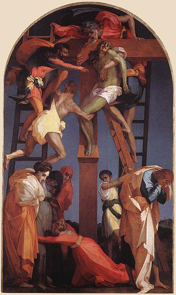 Rosso Fiorentino: Deposizione dalla croce