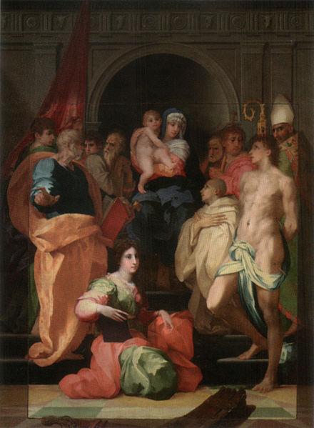 Rosso Fiorentino: Pala Dei