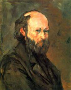Paul Cezanne autoritratto del 1880