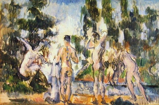 Paul Cezanne: Quattro bagnanti