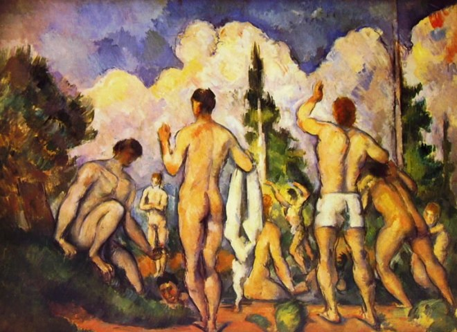 Paul Cezanne: Gruppo di bagnanti