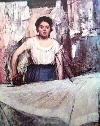 Degas - stiratrice
