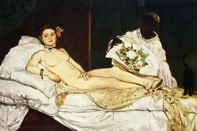 Edouard Manet: Olimpia