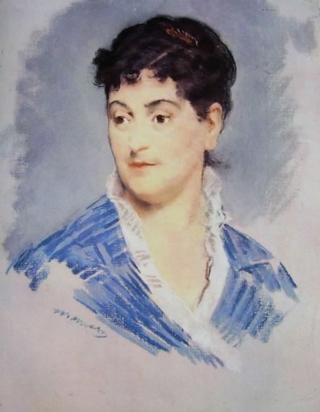 Edouard Manet: Ritratto della signora Zola