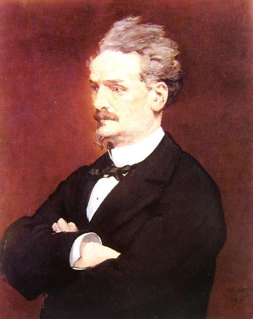 Edouard Manet: Ritratto di Henri Rochefort