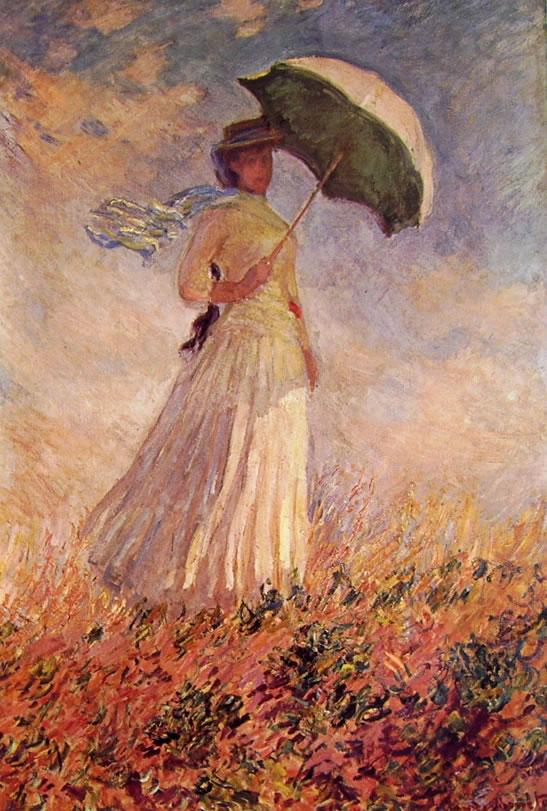 Claude Monet: Donna con Parasole