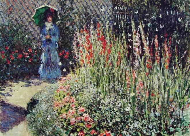 Claude Monet: Gladioli