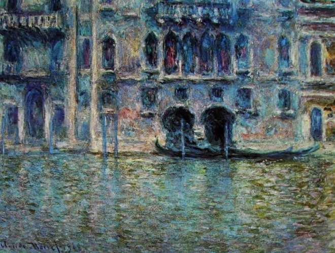 Claude Monet: Vedute di Venezia (palazzo da Mula)