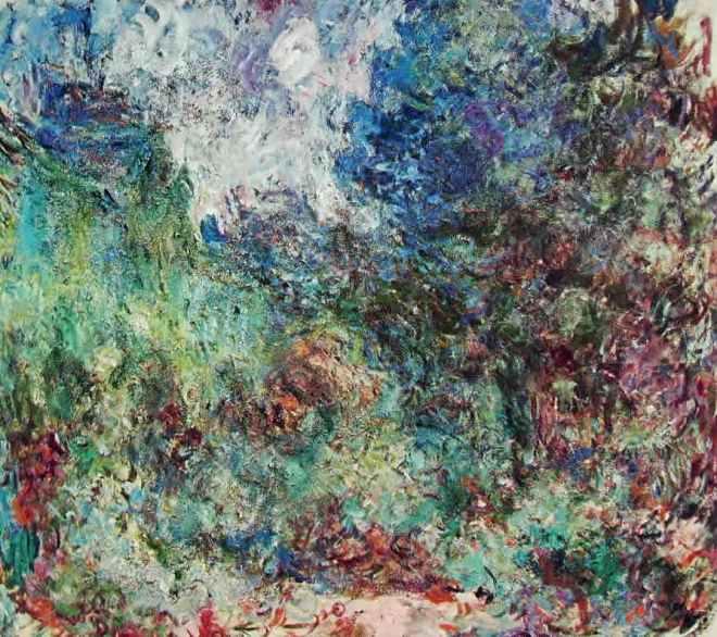 Claude Monet: La casa di Giverny fra le rose