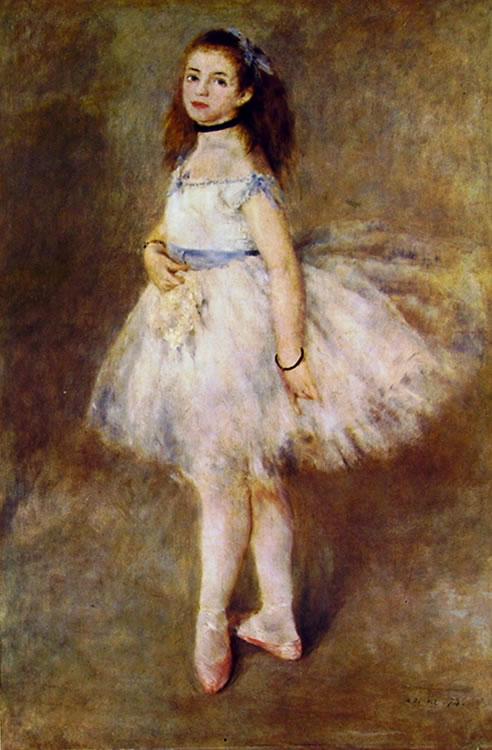 Ballerina, 1874, 142 x 93 National Gallery of Art, Washington
