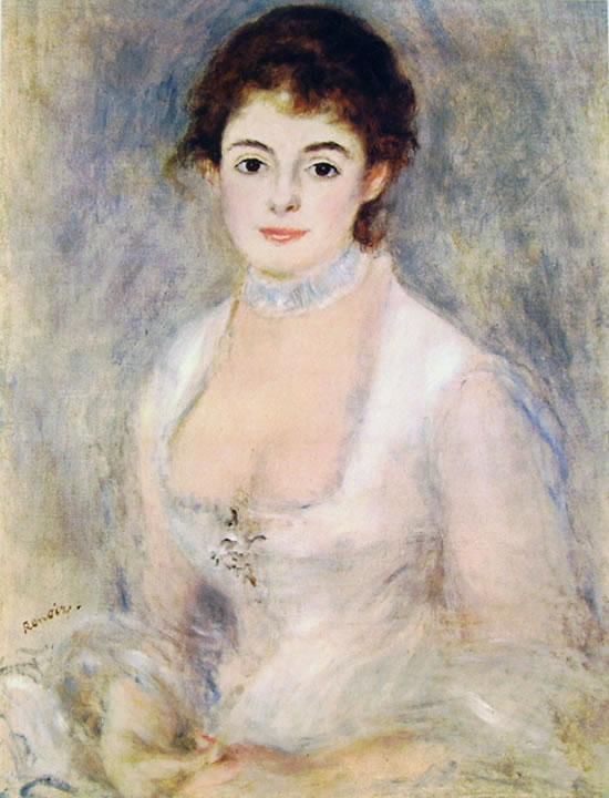 Henriette Henriot in bianco, 70 x 55, National Gallery of Art Washington